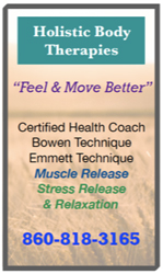 Holistic Body Therapies Ad